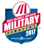 Most Valuable Employer Military Finalist 2017