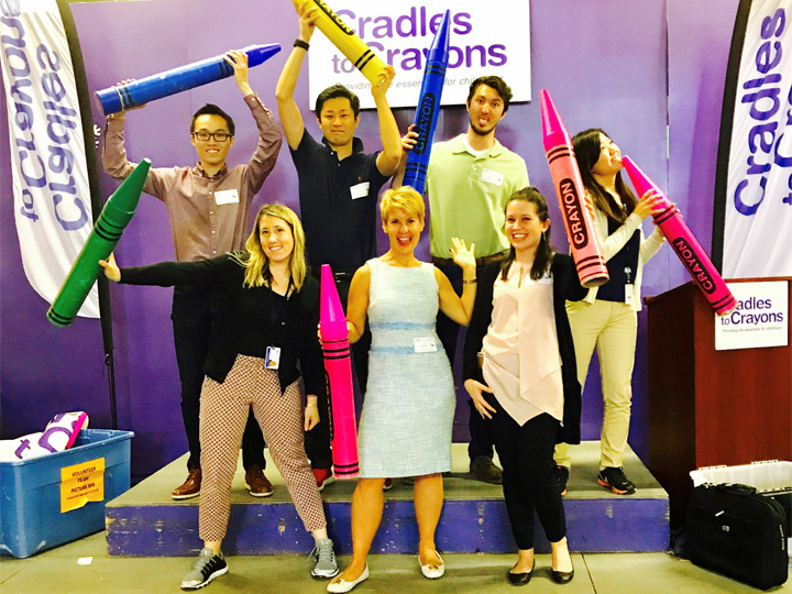 CSR at Cradles to Crayons  image