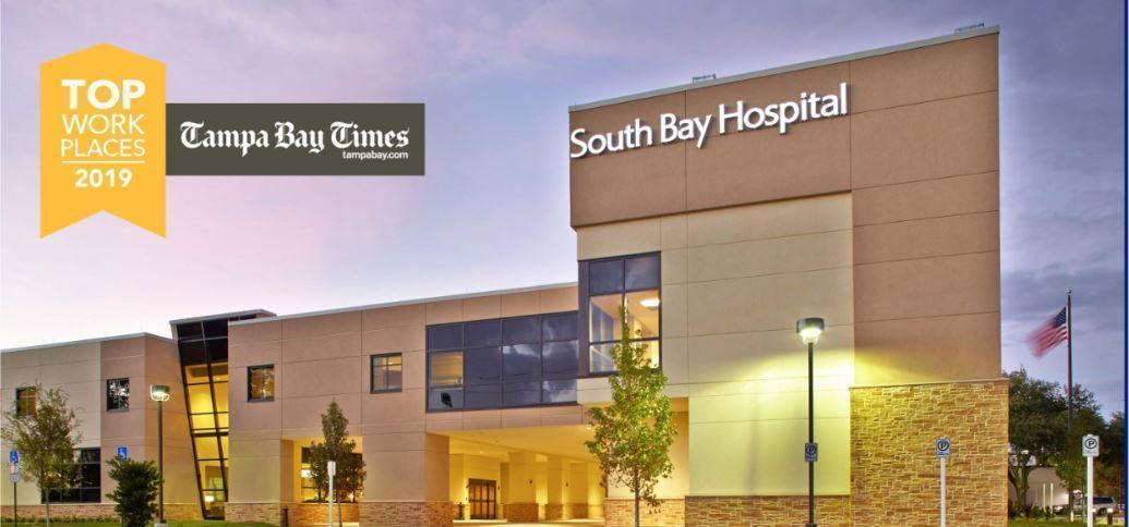 South Bay Hospital Top Work Places 2019