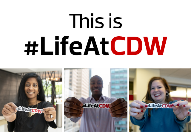 This is #LifeAtCDW image