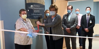 New Emergency Department Transition Unit (EDTU) Opened Sept. 1