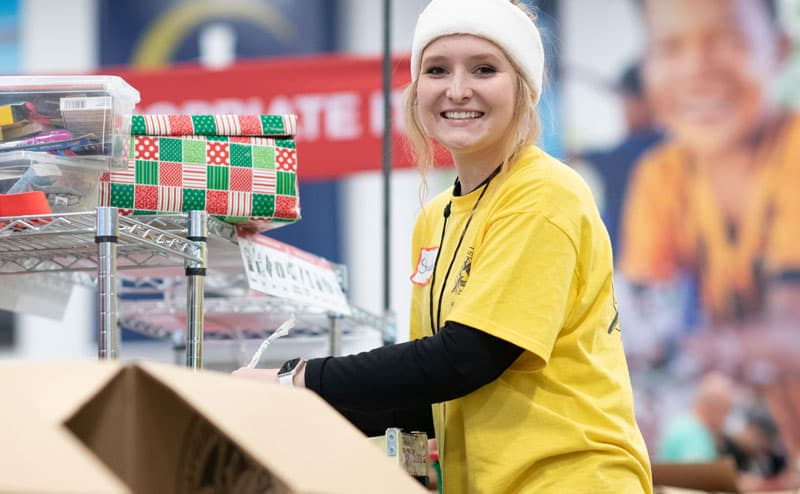 Operation Christmas Child Seasonal Employment image