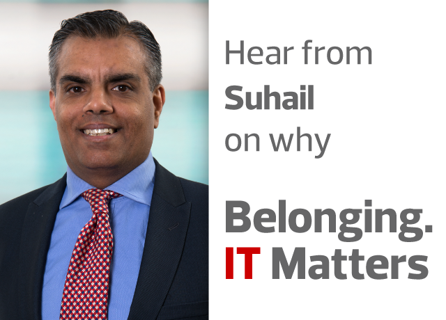 Belonging. IT Matters. with Suhail Tariq image