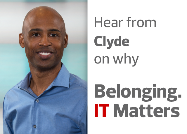 Belonging. IT Matters. with Clyde Griffin image