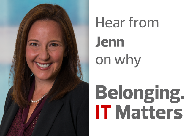 Belonging. IT Matters. by Jenn Gene image