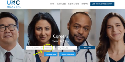 UNC Health Launches new Job Search Tool for Veterans and Service Members