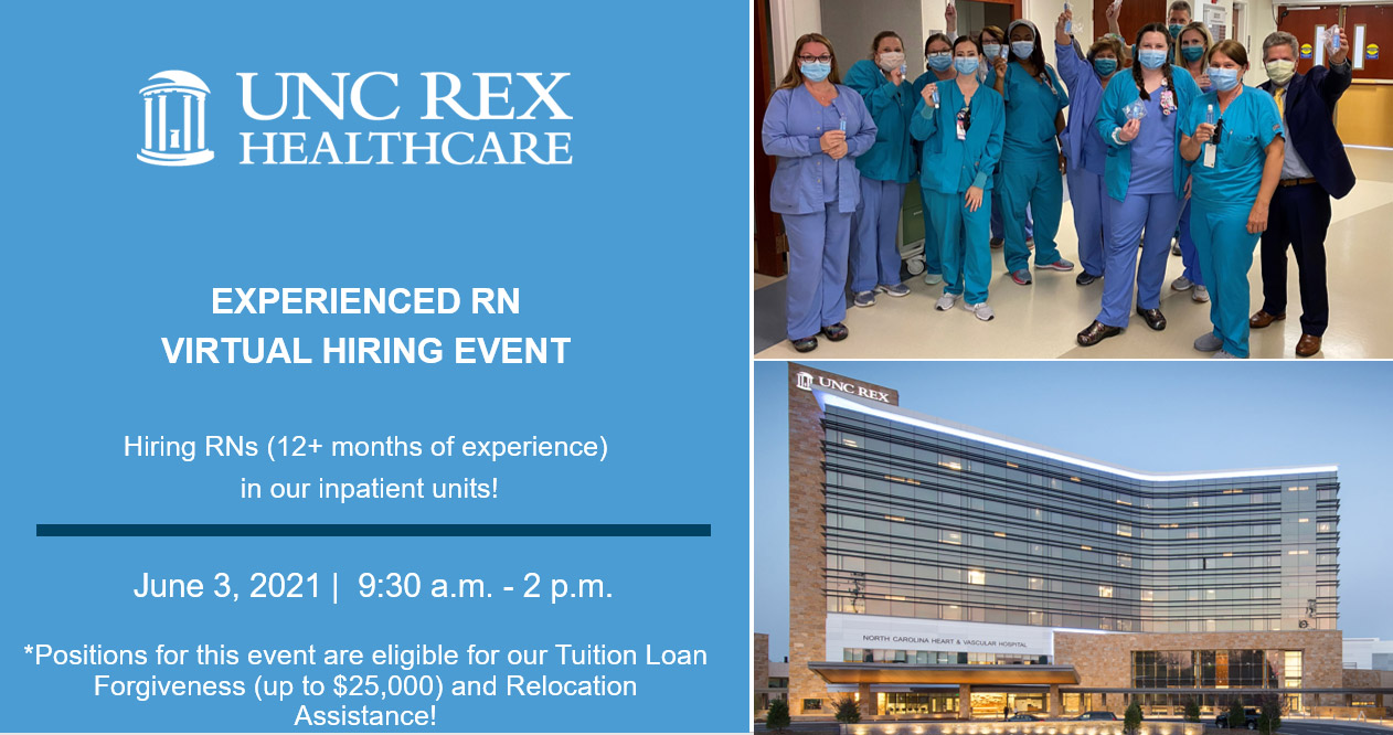 EVENT BANNER - Experienced RN Virtual Hiring Event