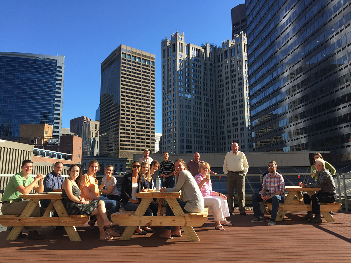 Boston Office's New Roof Deck